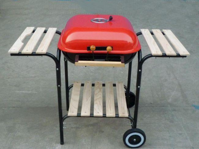 grill prostok tny z pokryw landmann 41x41 dlaturysty. Black Bedroom Furniture Sets. Home Design Ideas