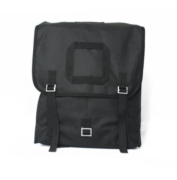 Plecak kostka czarny Wojskowy